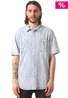 ALTAMONT Acid Jazz Woven S/S Shirt blue