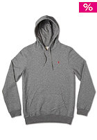 ALTAMONT Basic Hooded Sweat grey