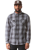 ALTAMONT Binary Flannel L/S Shirt ash