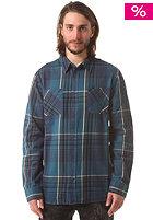 ALTAMONT Tungsten L/S Woven Shirt blue