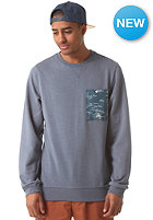 ALTAMONT Wavy Crew Sweat pacific blue