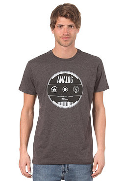 ANALOG AG Analog Records Slim S/S T-Shirt charcoal heather