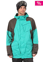 ANALOG Albatross Jacket teal/off black