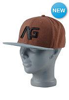 ANALOG Choice Snapback Cap leather brown