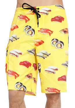 ANALOG Combat Sushi 2 Boardshorts yellow