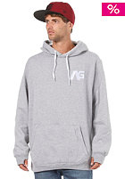 ANALOG Crux Hooded Sweat athletic heather grey