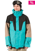 ANALOG Genesis Jacket teal/true black/ash brown