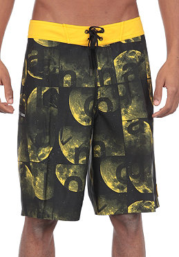 ANALOG Lunar Boardshorts corp yellow
