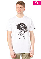 ANALOG Rain Drop Slim T-Shirt white