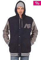 ANALOG Rivalry Hooded Zip Sweat moon blue