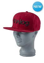 ANALOG Select Snapback Cap burgundy