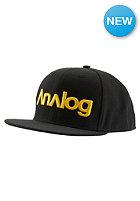ANALOG Select Snapback Cap true black