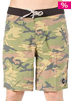 ANALOG Selvedge Boardshort camo