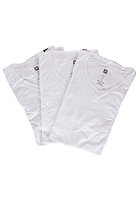 ANALOG V-Neck 3 Pack S/S T-Shirt optic white