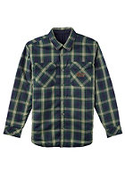 ANALOG Variant Reversible L/S Shirt moss green