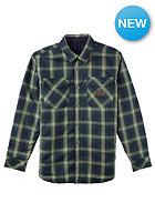 ANALOG Variant Reversible L/S Shirt moss green
