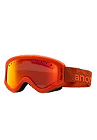 ANON Kids Tracker Comet Goggle red amber