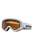 ANON Kids Tracker White Goggle amber