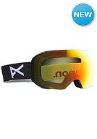 M2 Black Goggle red solex