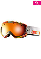 ANON Womens Majestic Goggle aura/ red solex