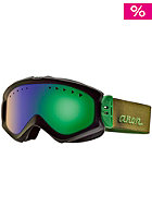 ANON Womens Majestic Goggle chocolate/ green solex