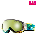 ANON Womens Majestic Goggle jello/ blue lagoon