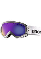 ANON Womens Majestic Goggle white/ blue solex