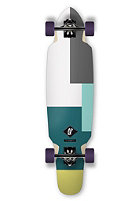 APEX Complete Longboard Broadway Maple 9.25 green/ white