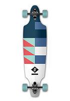 APEX Complete Longboard Promenade MK2 9.7 white/ blue