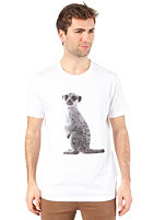 ARMEDANGELS James Meercat S/S T-Shirt white