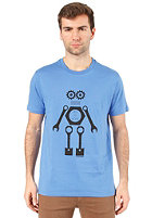 ARMEDANGELS James Mr. Robot S/S T-Shirt azure blue