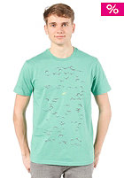 ARMEDANGELS James Swarming Birds S/S T-Shirt spring green