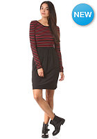 ARMEDANGELS Womens Elise Stripes Dress red
