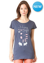 ARMEDANGELS Womens Jane 3 Lifes Left S/S T-Shirt washed blue