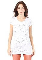 ARMEDANGELS Womens Jane Swarming Birds S/S T-Shirt white