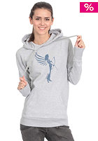 ARMEDANGELS Womens Lori Hooded Sweat grey melange 