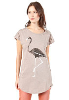 ARMEDANGELS Womens Scarlett Flamingo S/S T-Shirt nougat melange