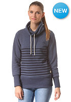 ARMEDANGELS Womens Stella Stripes Sweat washed blue melange