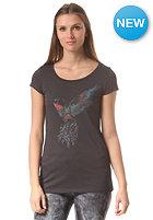 ARMEDANGELS Womens Uma Hummingbird S/S T-Shirt acid black