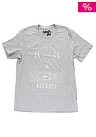 ASHBURY Fishing S/S T-Shirt heather grey