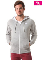 ASICS Full Hooded Zip Sweat heather grey