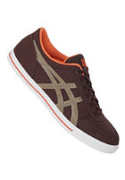 ASICS Womens Aaron CV dark brown/dark sand