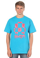 AWSM The Dripper S/S T-Shirt blue/red