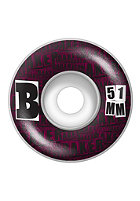 BAKER B Set Wheels 51mm purple