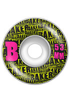 BAKER B Set Wheels 53mm yellow