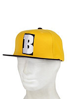 BAKER Cap B Snapback yellow/black