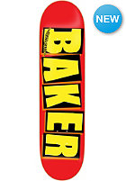 BAKER Deck Brand Logo 8.1 red/yellow