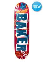 BAKER Deck Brand Logo Floral Red/Blue 8.2 one colour