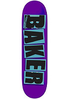 BAKER Deck BRAND LOGO purple/blue 8.1 one color
