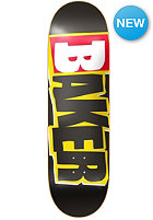 BAKER Deck Reset Logo 8.3 black/yellow